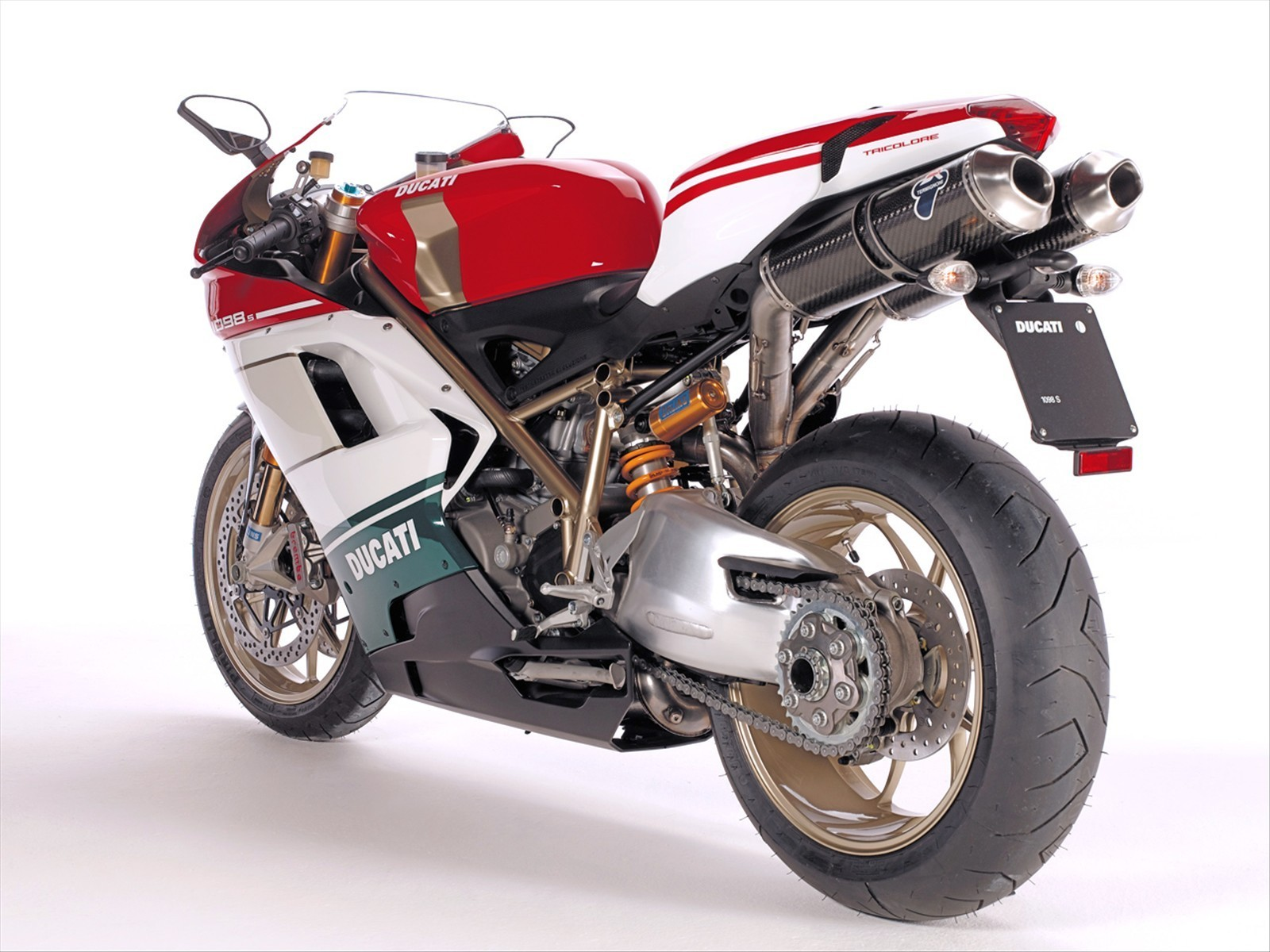 Ducati Superbike 1098 S Tricolore 2007 wallpapers #12043