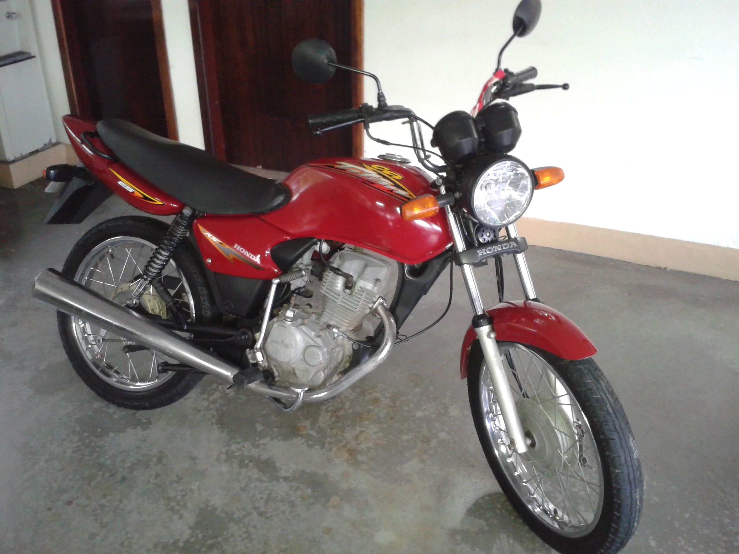 2003 honda cg 125 pics specs and information. Black Bedroom Furniture Sets. Home Design Ideas
