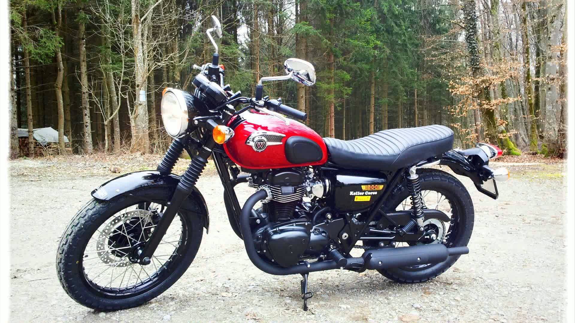 Kawasaki W800 Cafe Pics Specs And List Of Seriess By