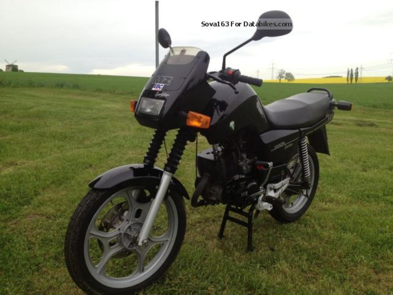 MZ ETZ 125 Saxon Roadstar 1995 wallpapers #140403