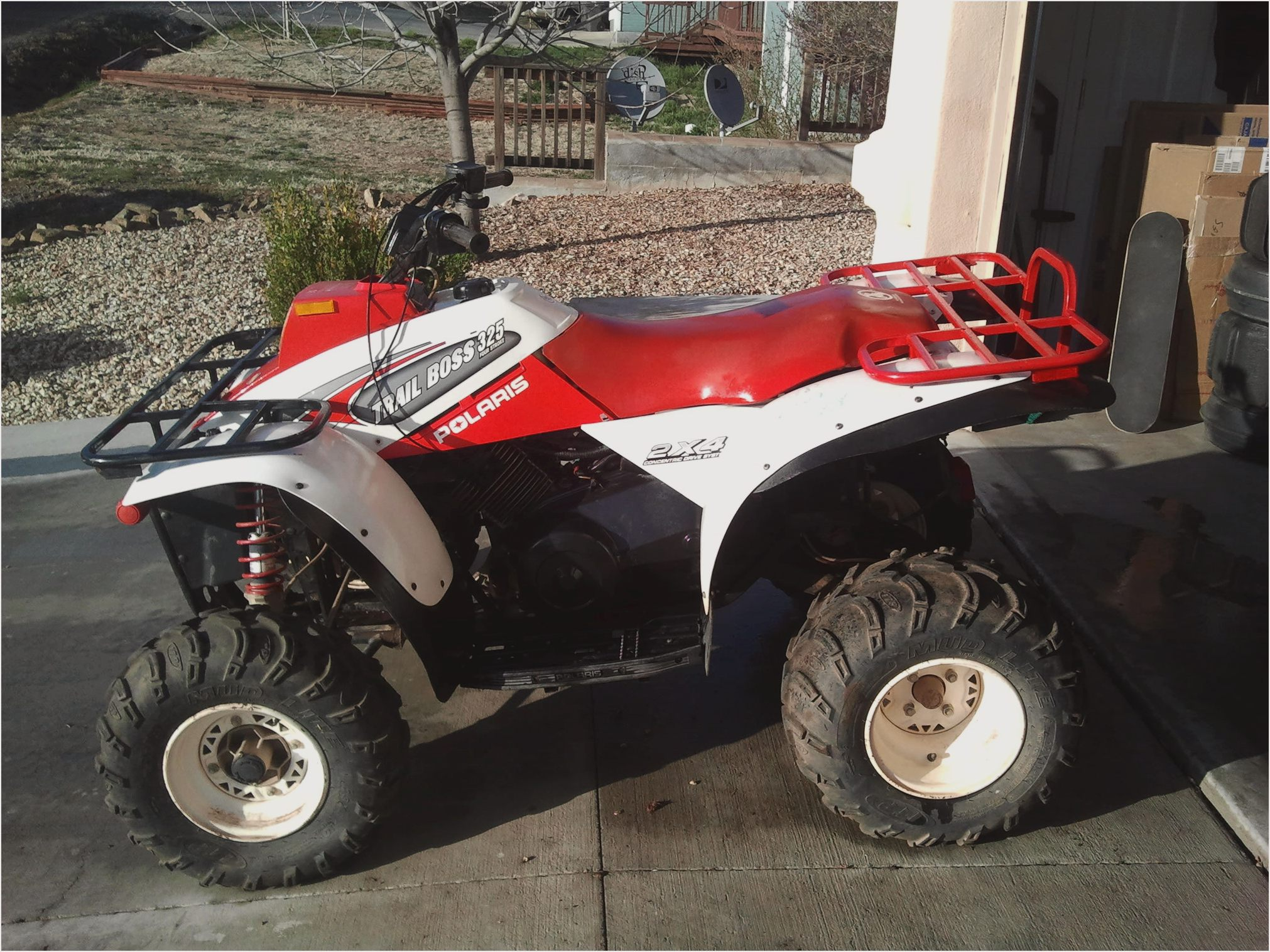Polaris Trail Boss 330 2008 images #169656