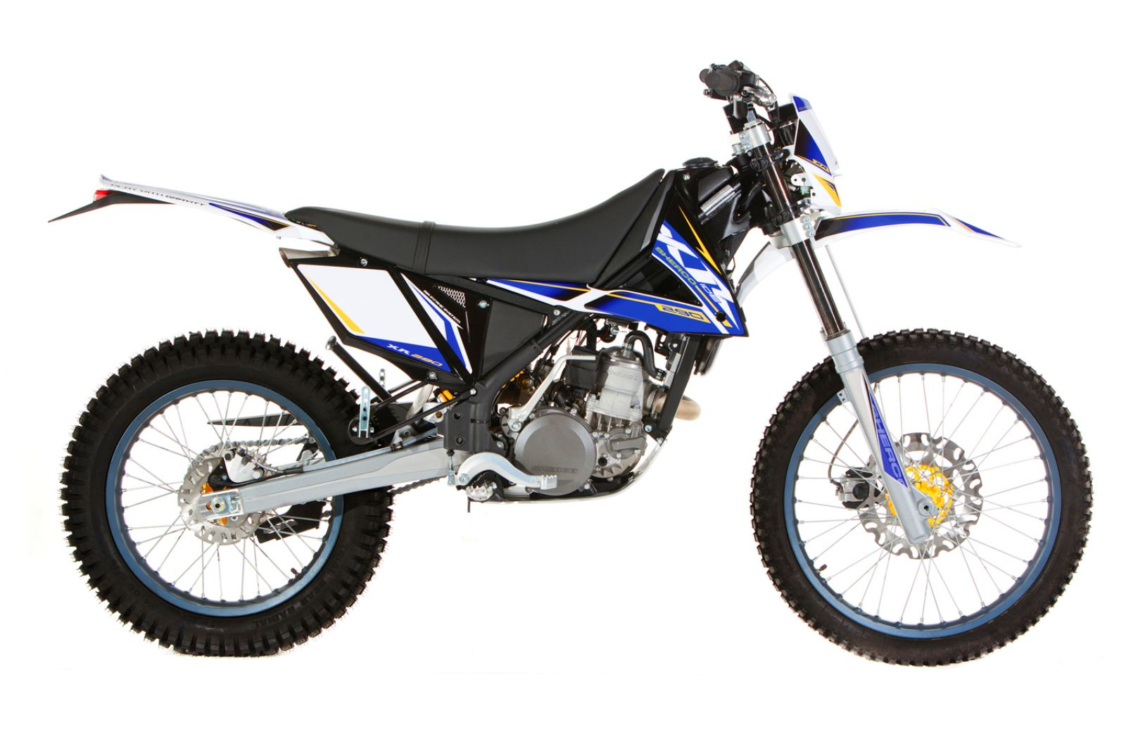Sherco 125cc Enduro Shark Replica 2007 images #124663