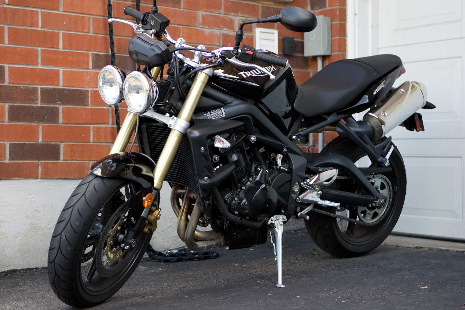 Triumph Speed Triple 1050 2007 images #125853