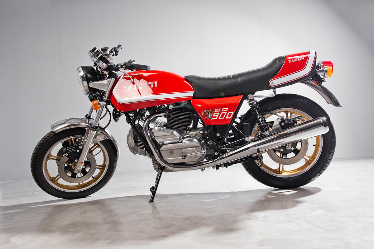 Ducati 900 SD Darmah 1979 wallpapers #10553