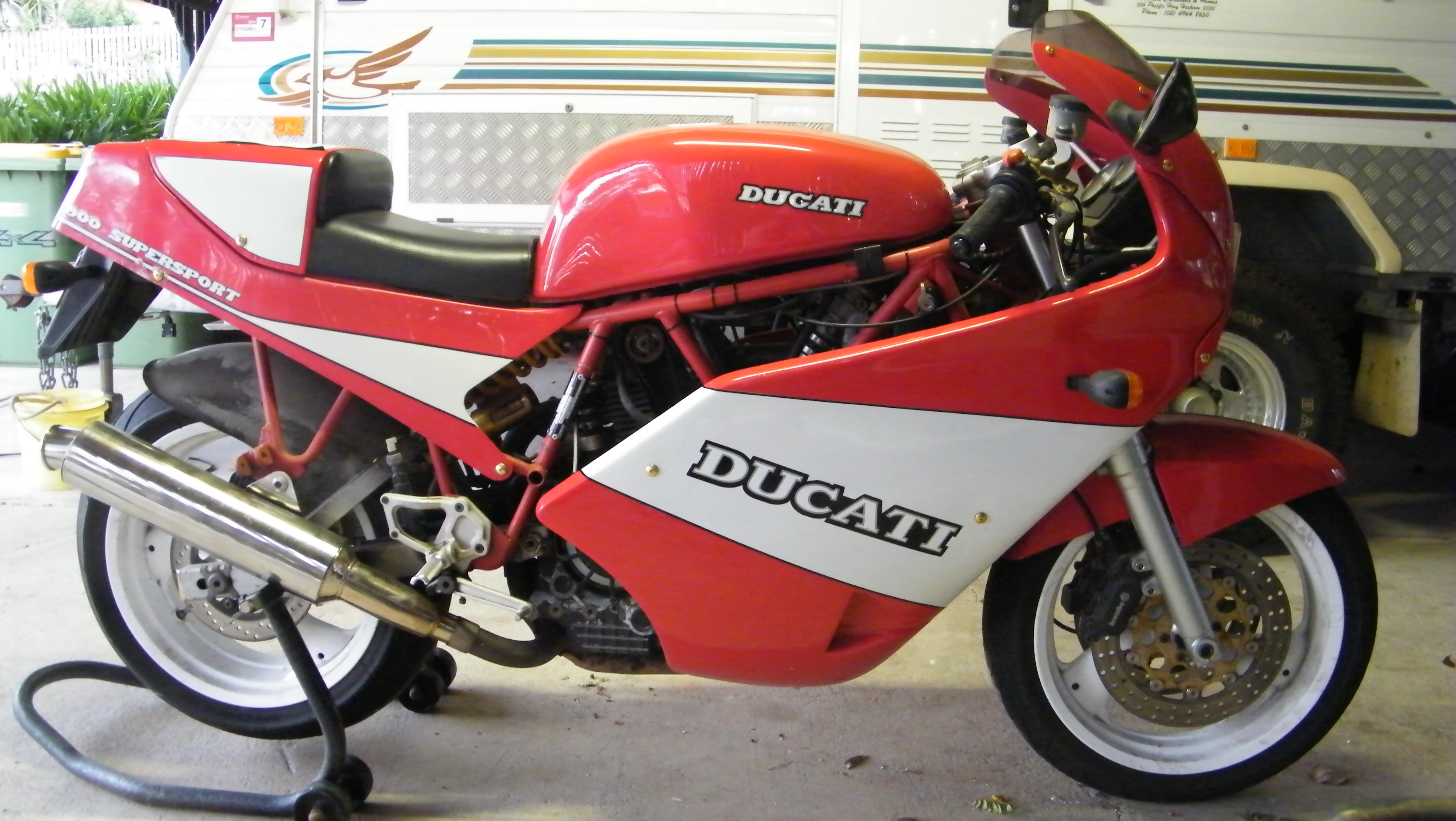 Ducati 900 SS Super Sport 1989 wallpapers #10453