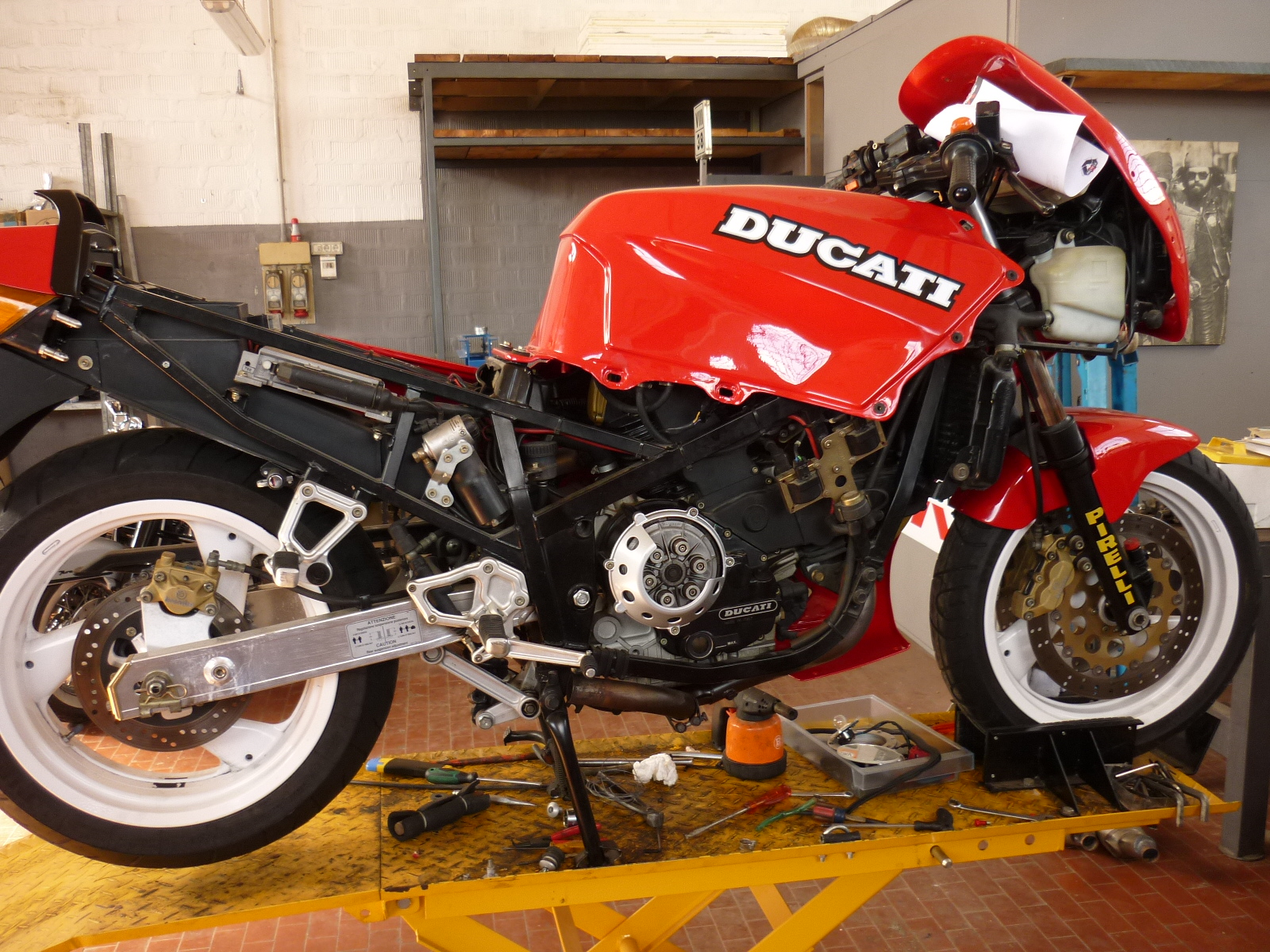 Ducati 907 i.e. Paso 1992 wallpapers #12838