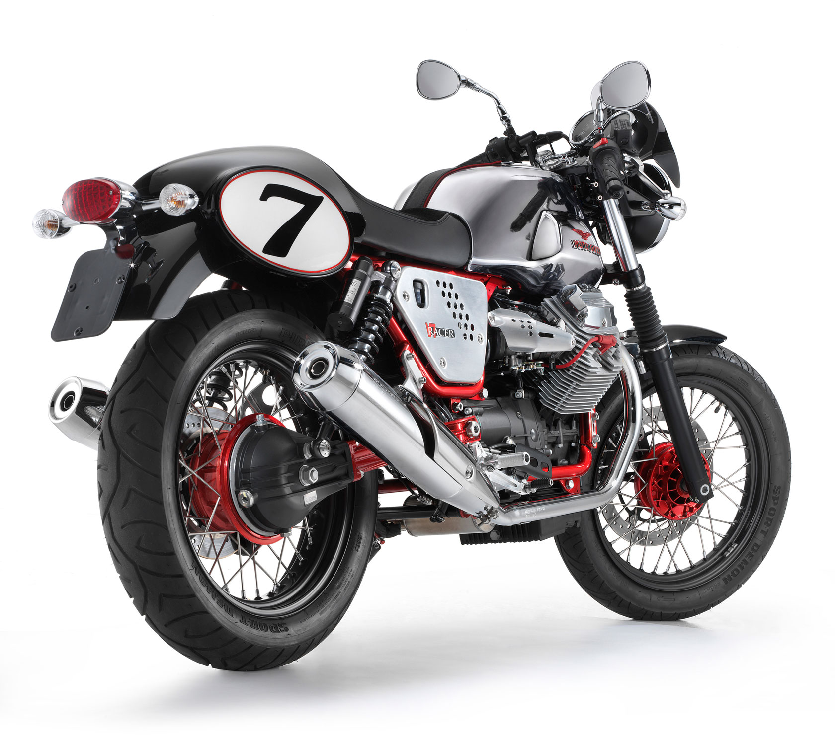 Moto Guzzi V7 Clubman Racer 2010 wallpapers #139508