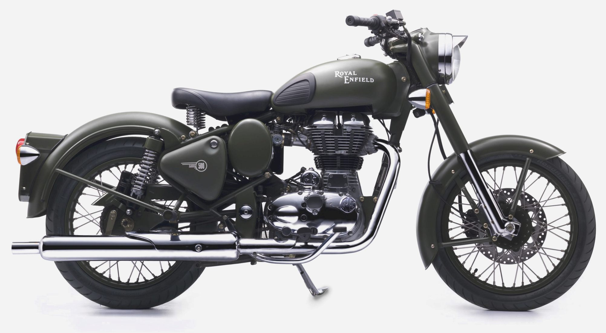 Royal Enfield Bullet 500 Army 1997 images #158644