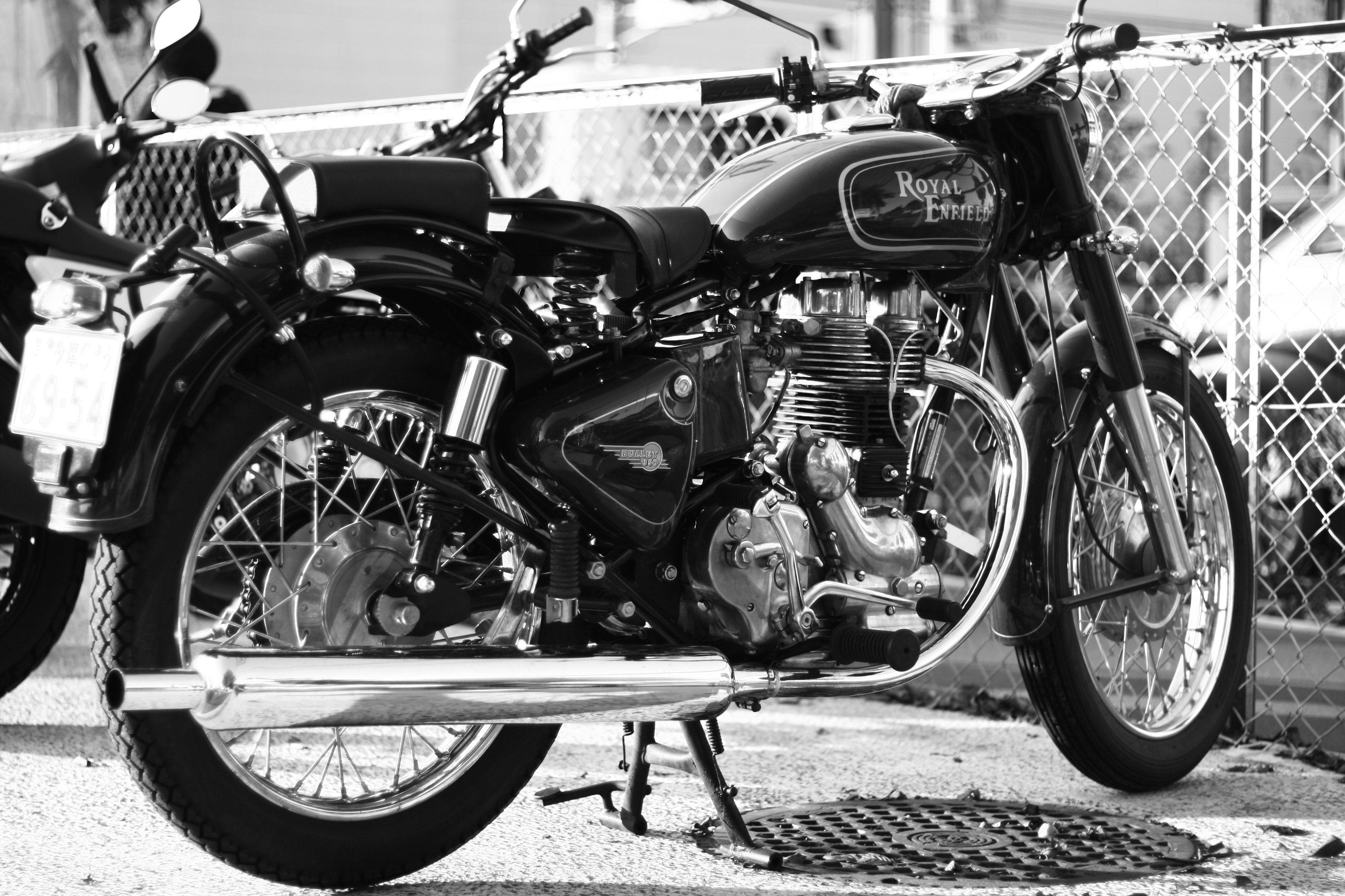 2009 Royal Enfield Bullet 500 S Clubman Pic 18 Onlymotorbikescom