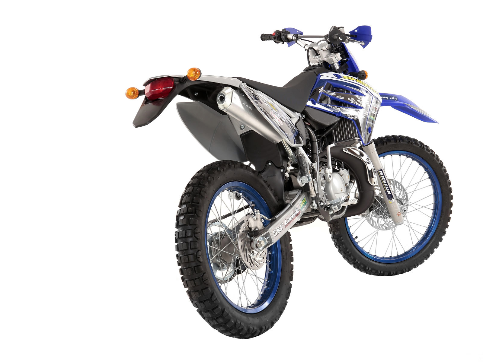 Sherco 125cc Enduro Shark Replica 2007 images #124664