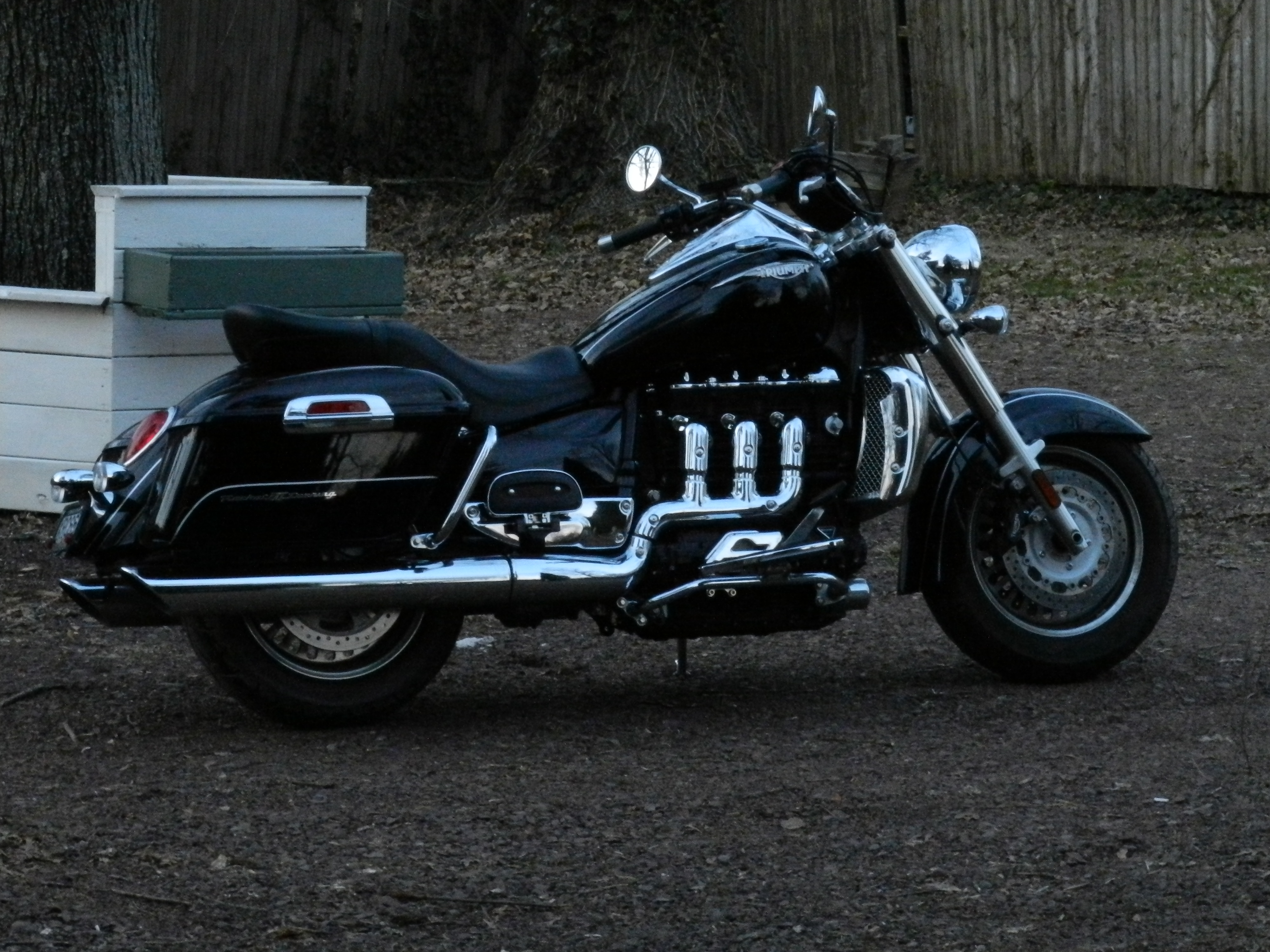 Triumph Rocket III Touring 2012 images #126947