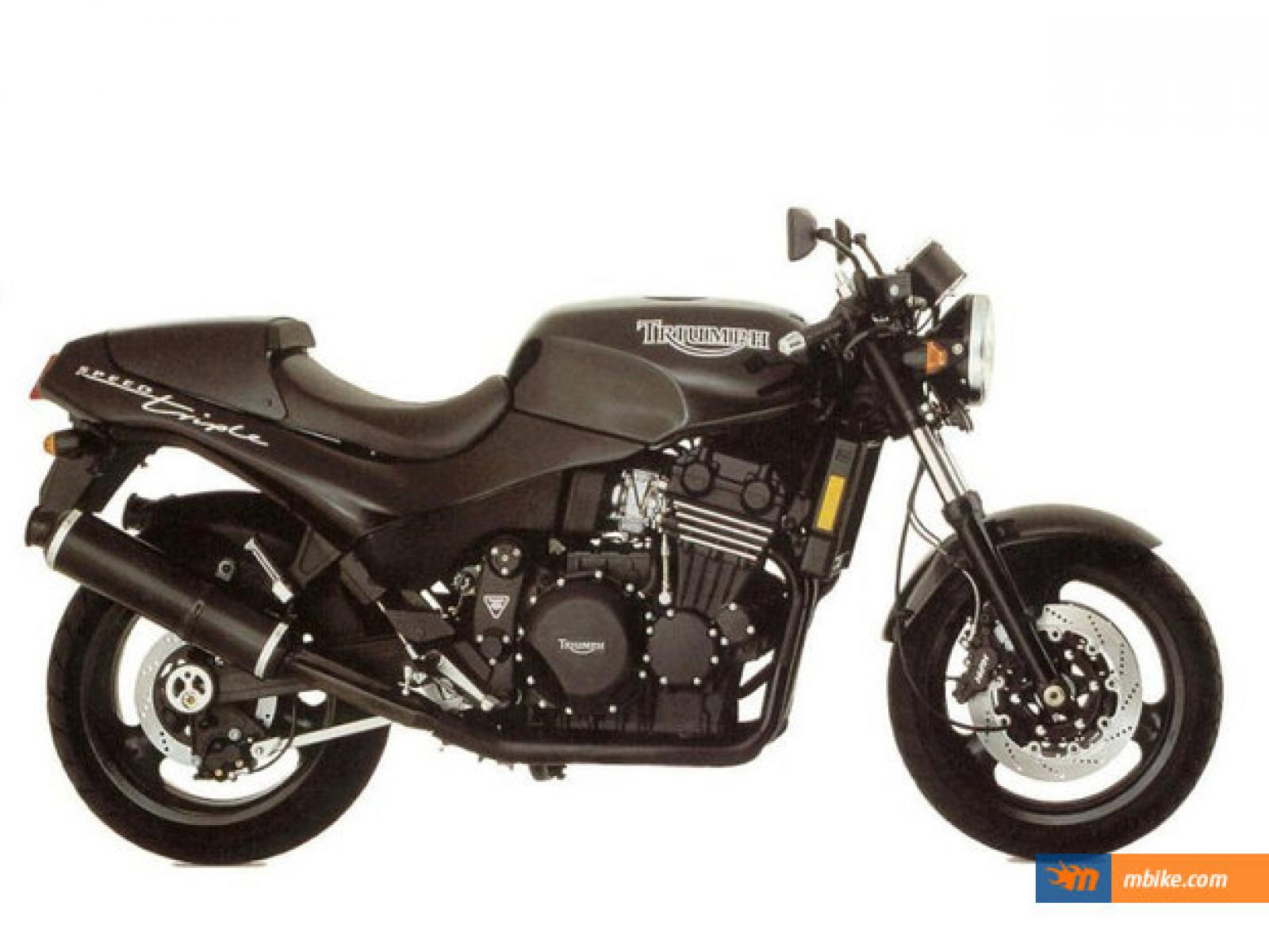 Triumph Speed Triple 900 1996 images #159244