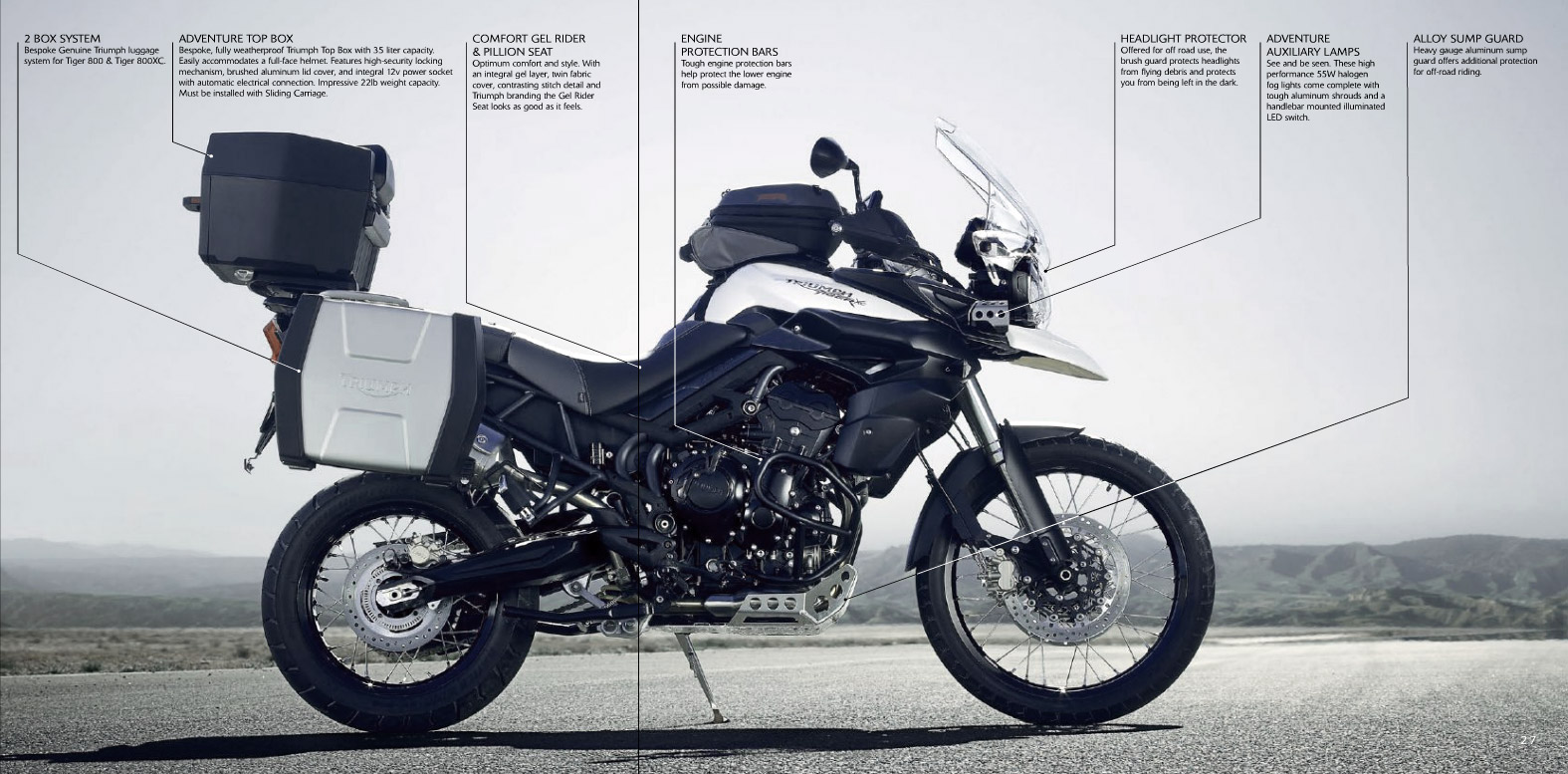 Triumph Tiger 800 Xc Pics Specs And List Of Seriess By