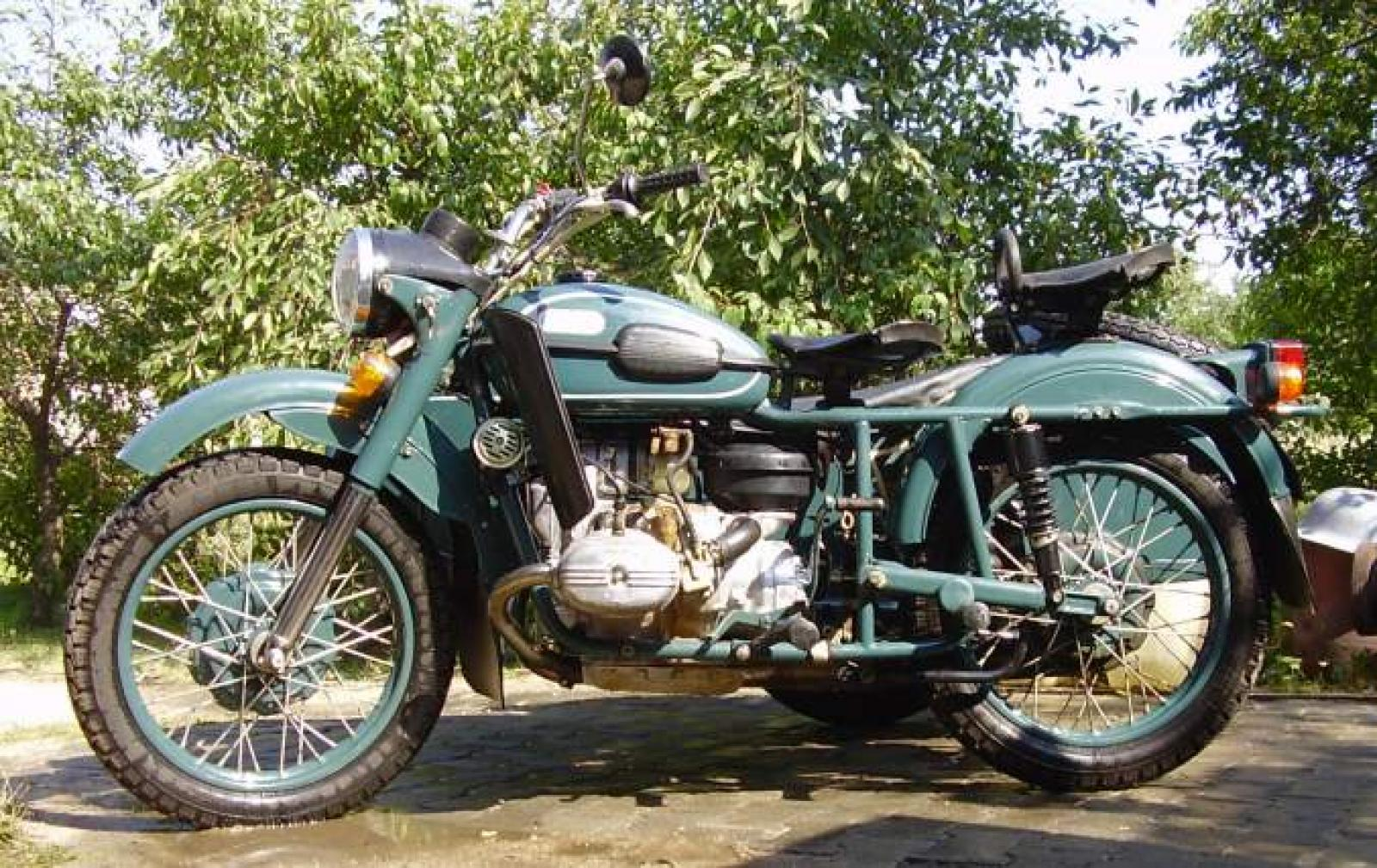 Ural M 67-6 with sidecar 1992 images #127510