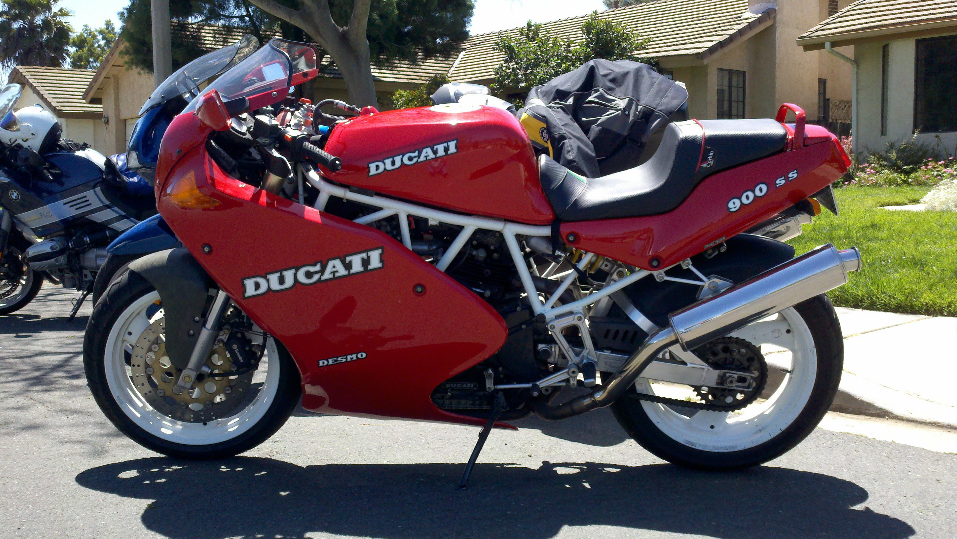Ducati 900 SS Super Sport 1989 wallpapers #10454