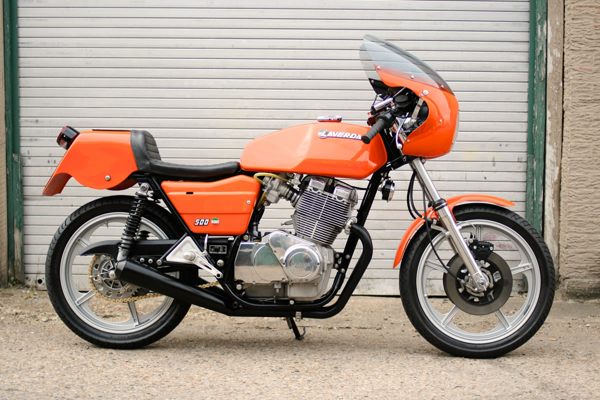 Laverda 500 1977 wallpapers #145857