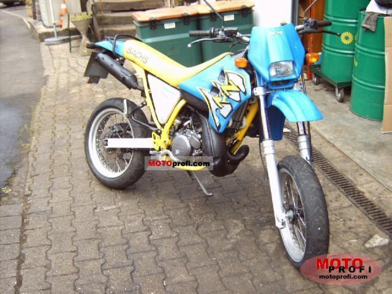 Sachs ZZ 125 1999 wallpapers #141097