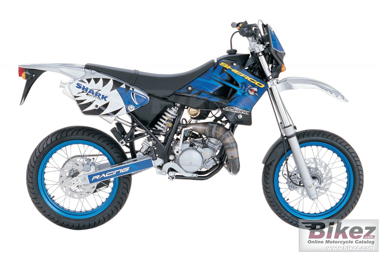 Sherco 125cc Enduro Shark Replica 2007 images #124665