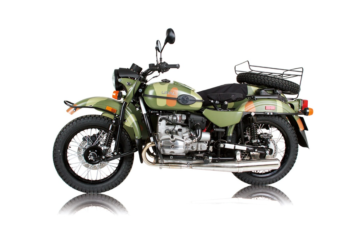 Ural M-63 with sidecar 1977 images #127216