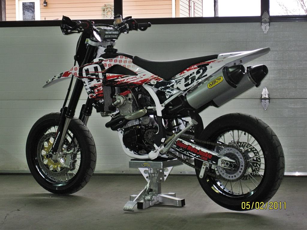 VOR SM-E 450 Supermotard 2007 wallpapers #132374