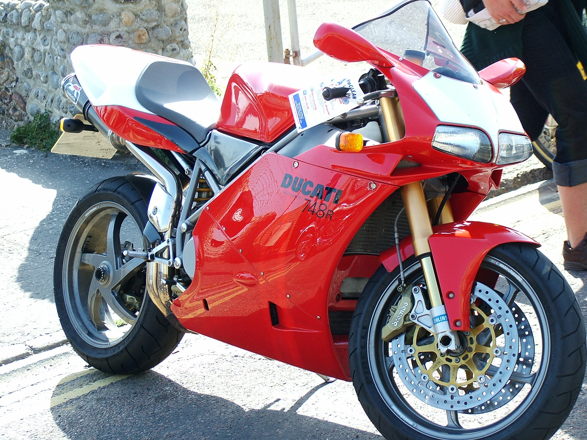 Ducati 916 Strada 1995 wallpapers #10855