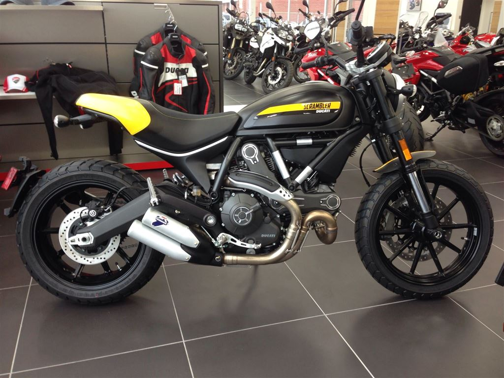 Ducati Scrambler Full Throttle 2015 wallpapers #13438