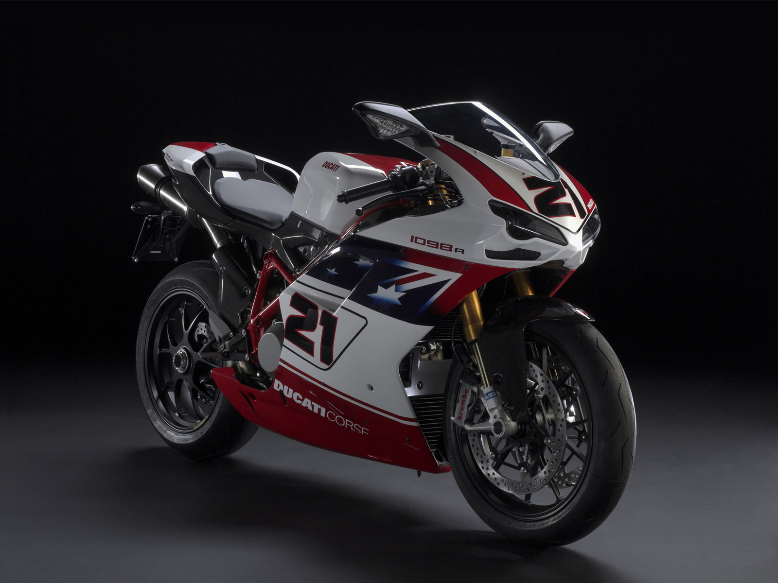 Ducati Superbike 1098 R Bayliss Limited Edition 2009 wallpapers #12443