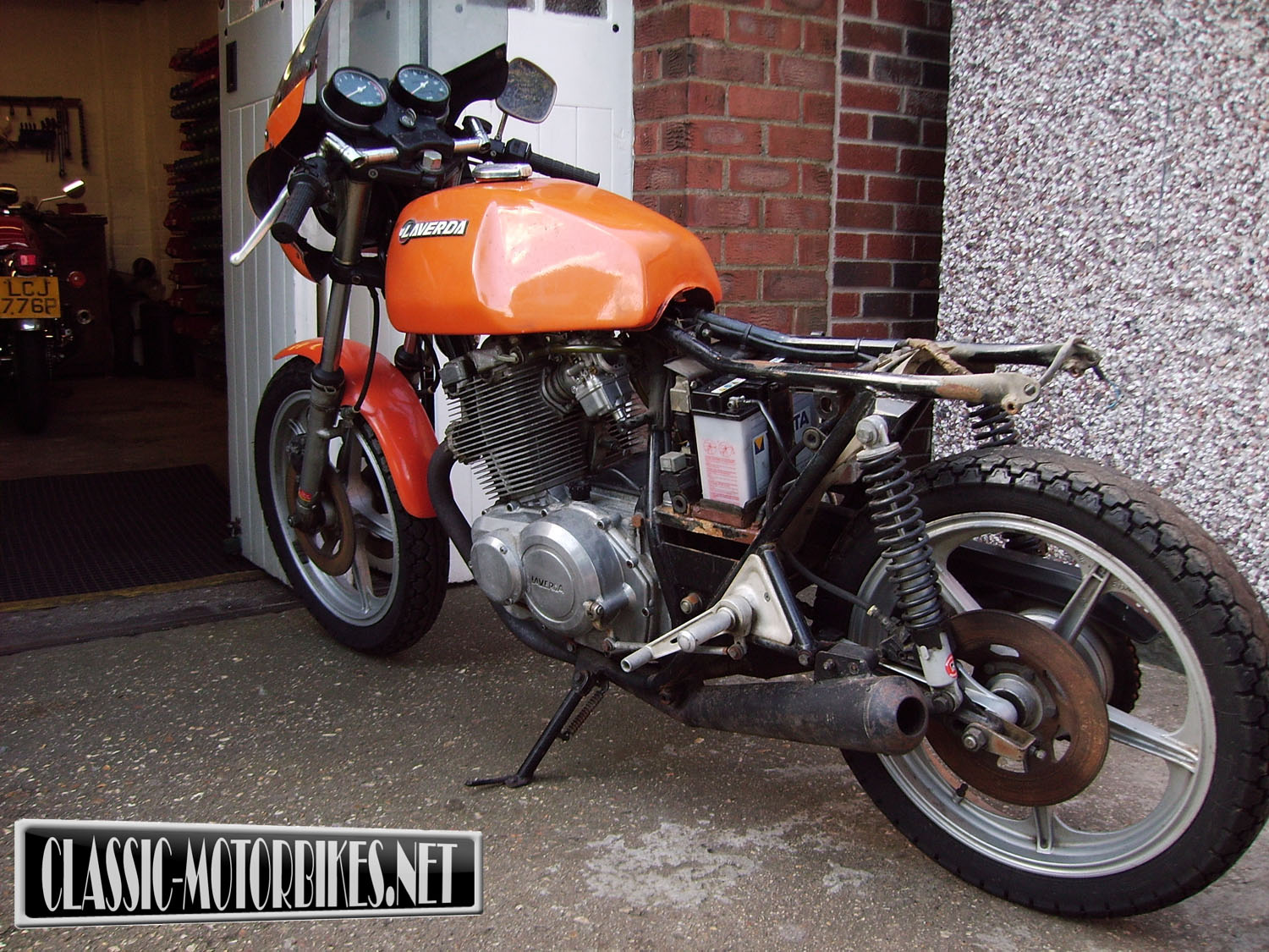 Laverda 500 1977 wallpapers #145858