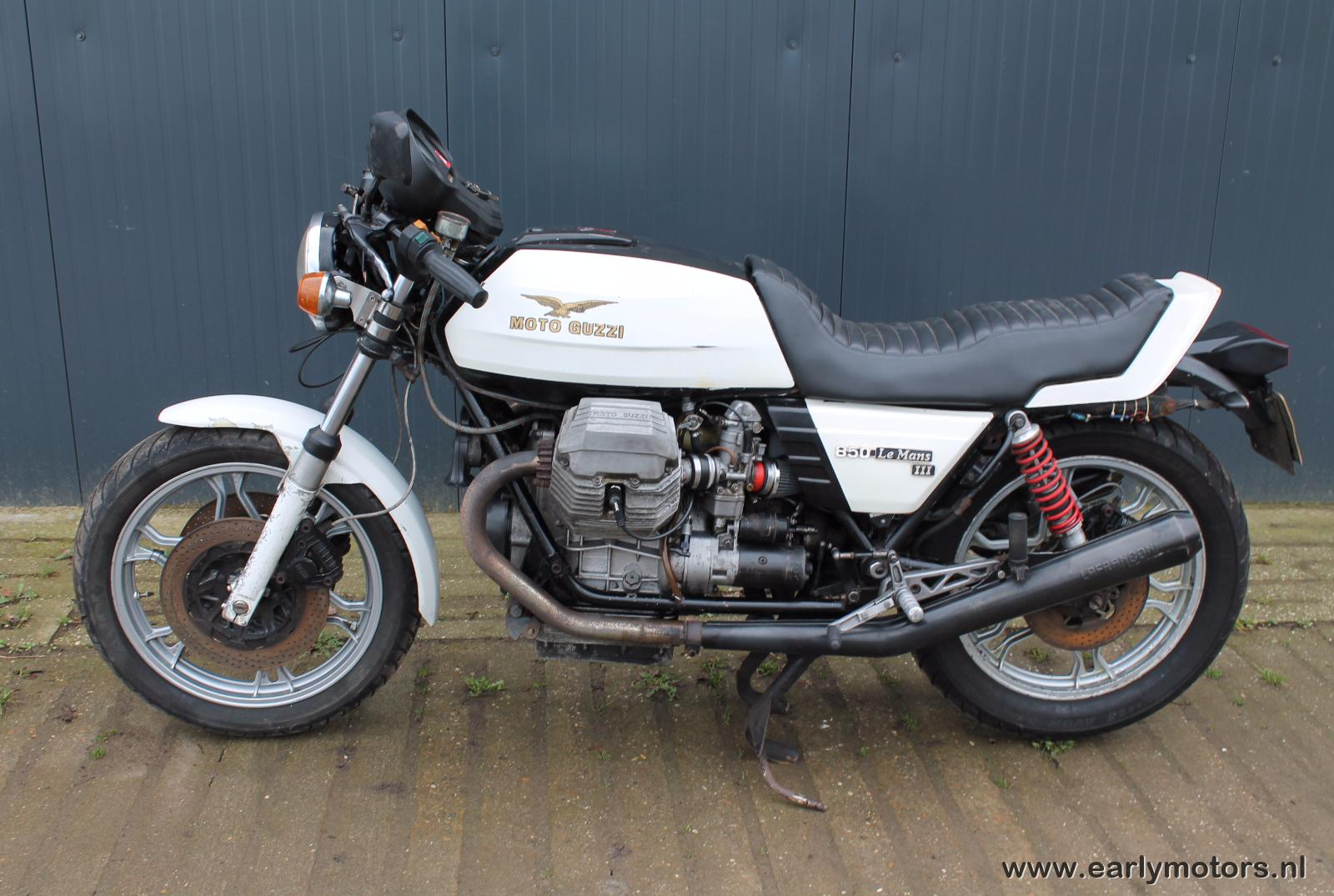 moto guzzi le mans iii pics specs and list of seriess by. Black Bedroom Furniture Sets. Home Design Ideas