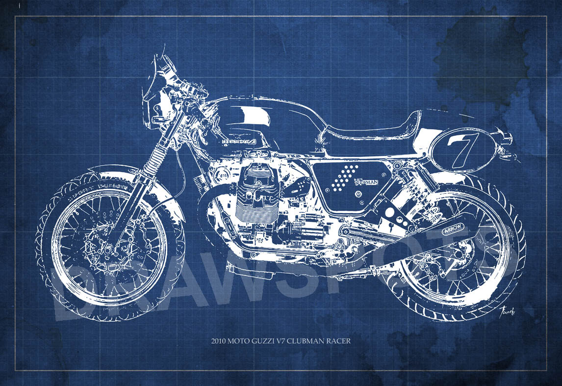 Moto Guzzi V7 Clubman Racer 2010 wallpapers #139510