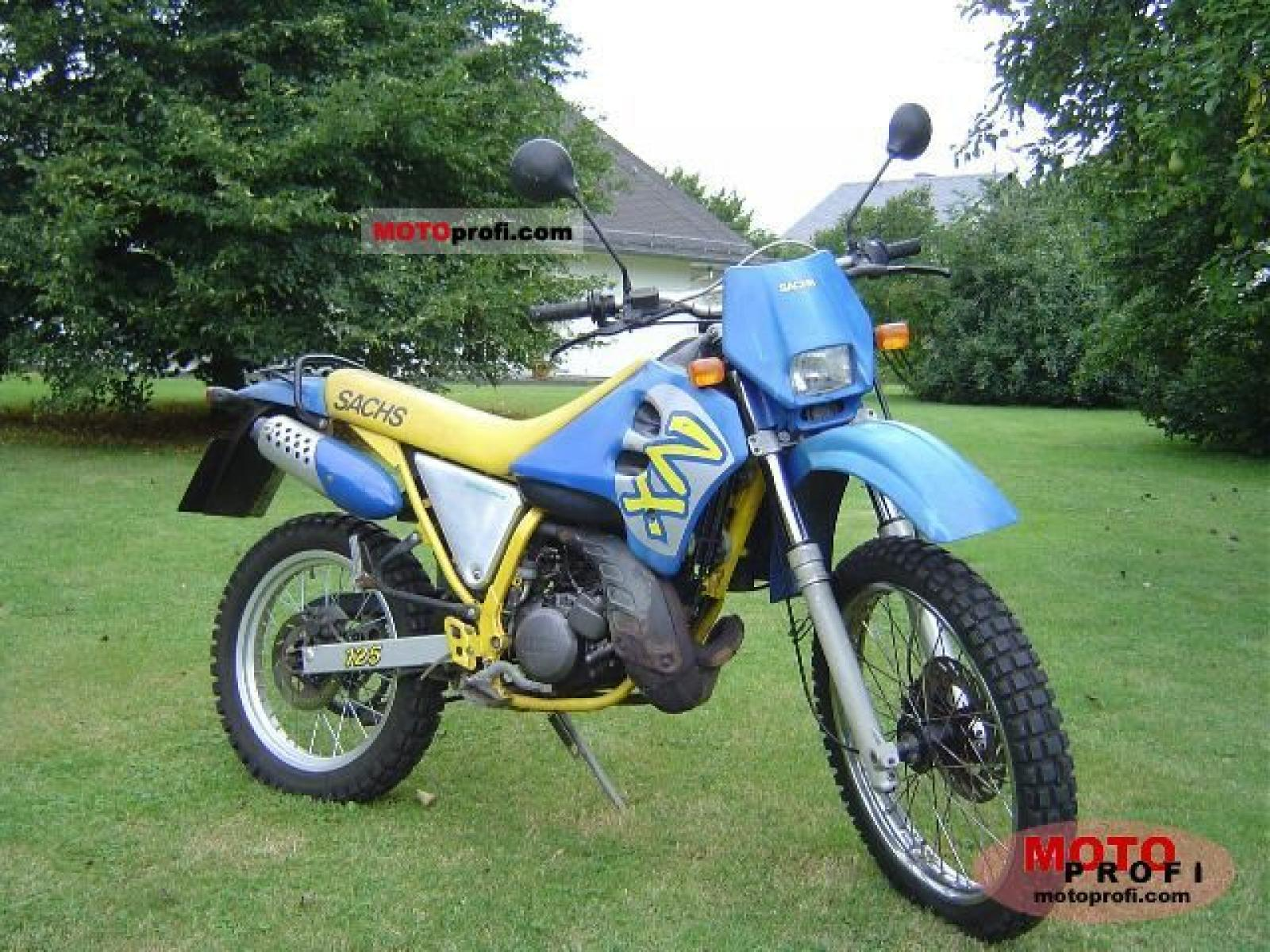 Sachs ZZ 125 1999 wallpapers #141098