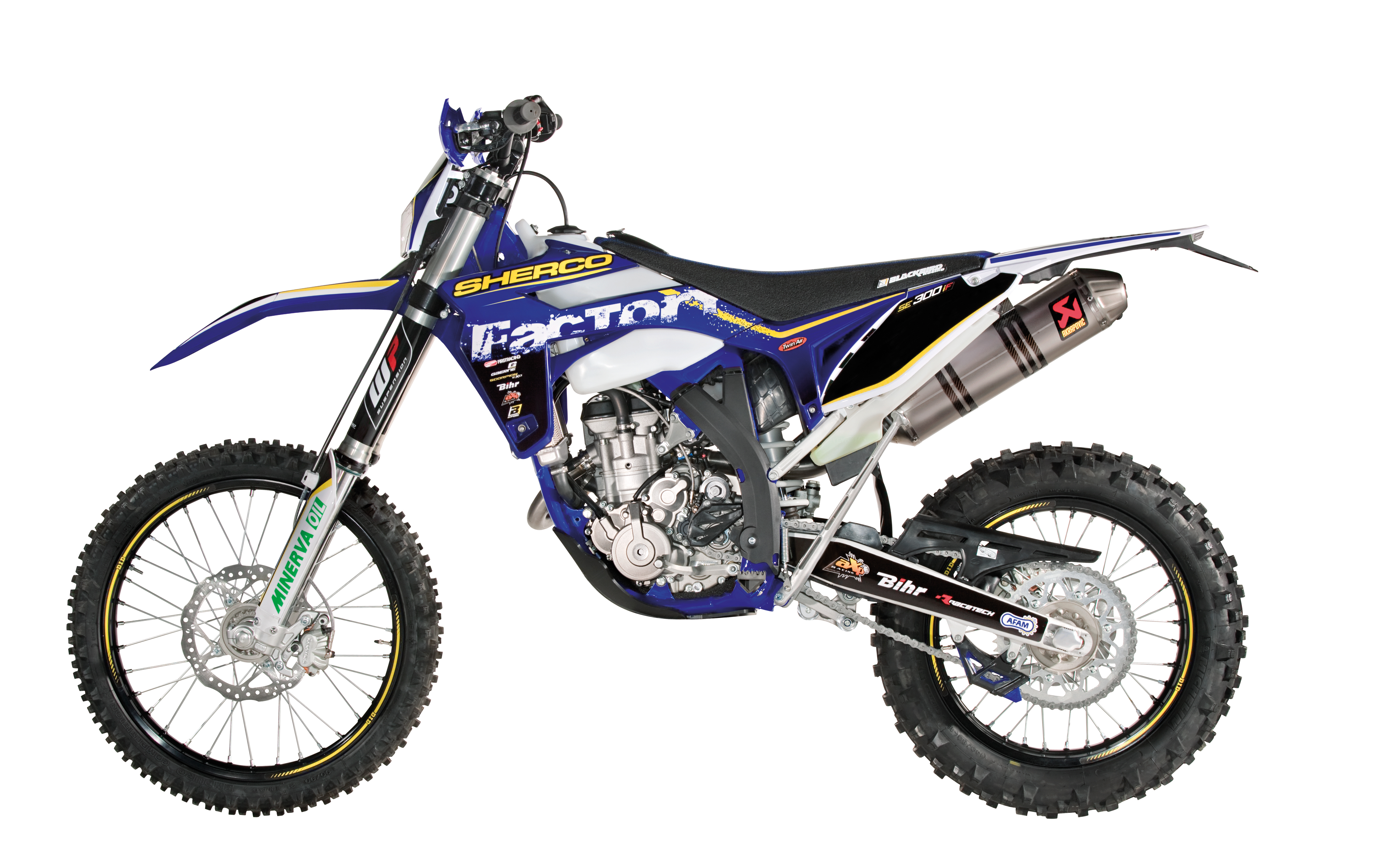 Sherco 125cc Enduro Shark Replica 2007 images #124666