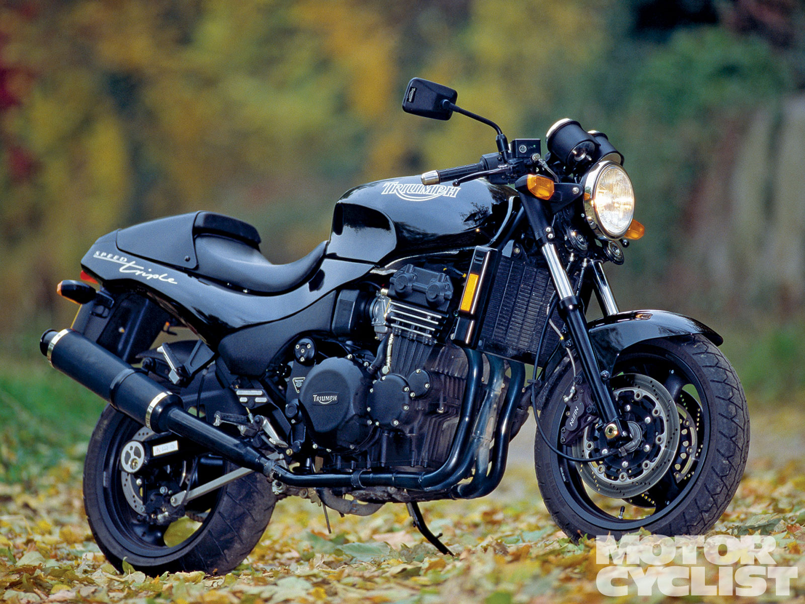 Triumph Speed Triple 900 1996 images #159246