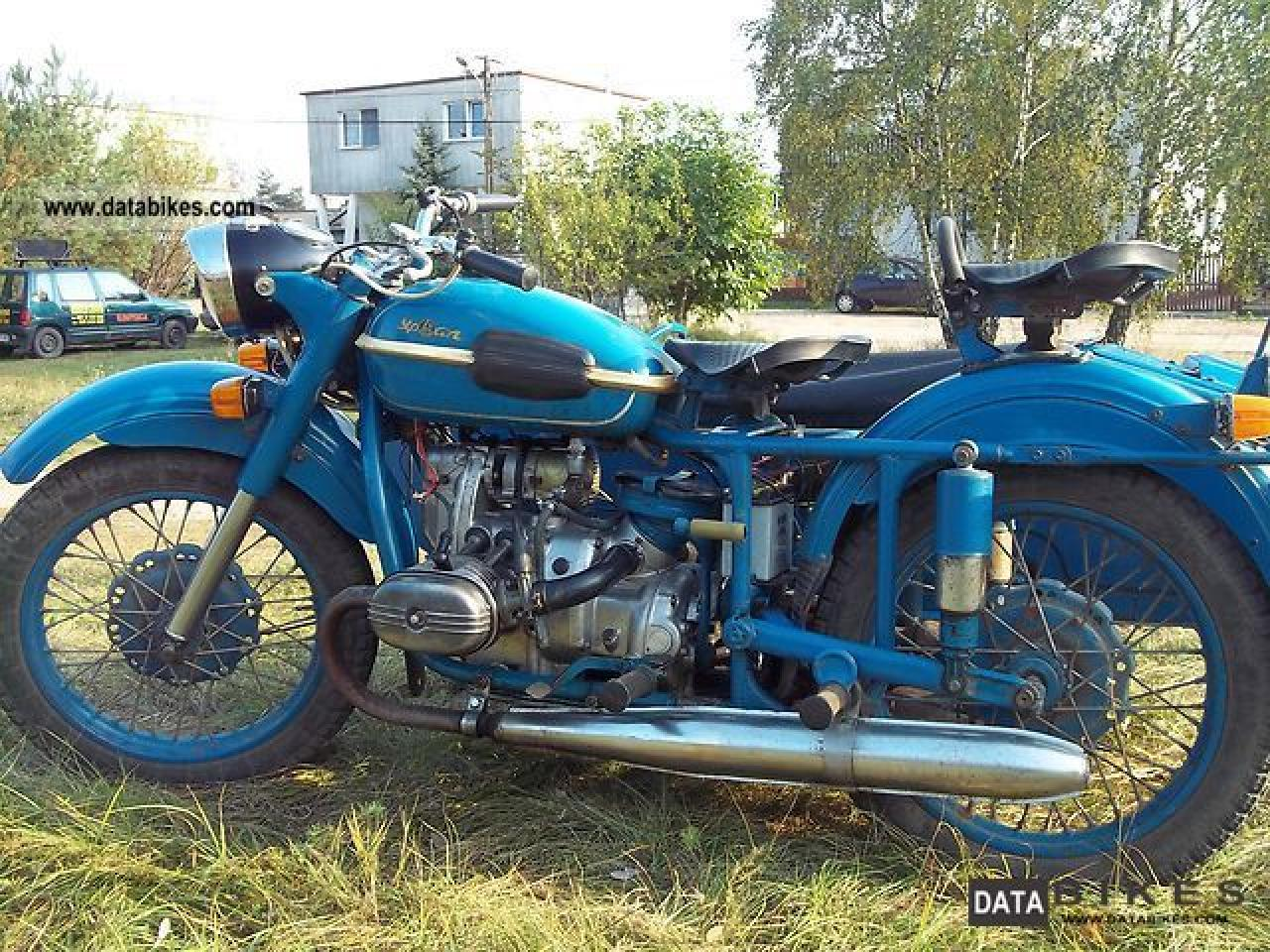 Ural M 67-6 with sidecar 1992 images #127512