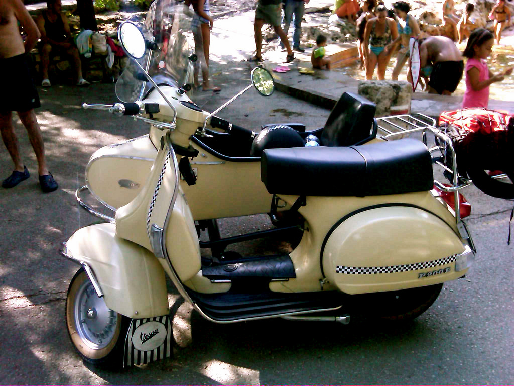 Vespa GTV 250 ie Sidecar 2009 wallpapers #129691