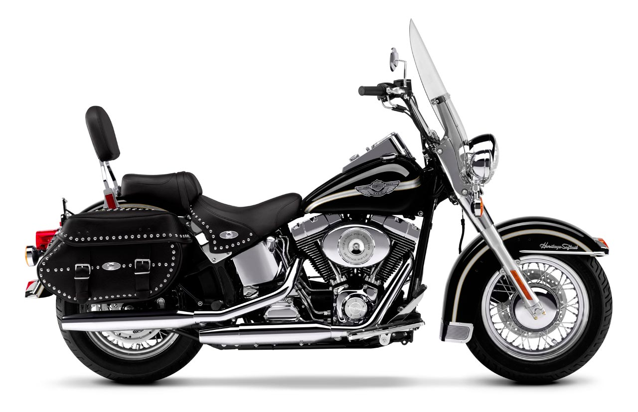 Harley-Davidson FLSTC Heritage Softail Classic 1998 images #80153