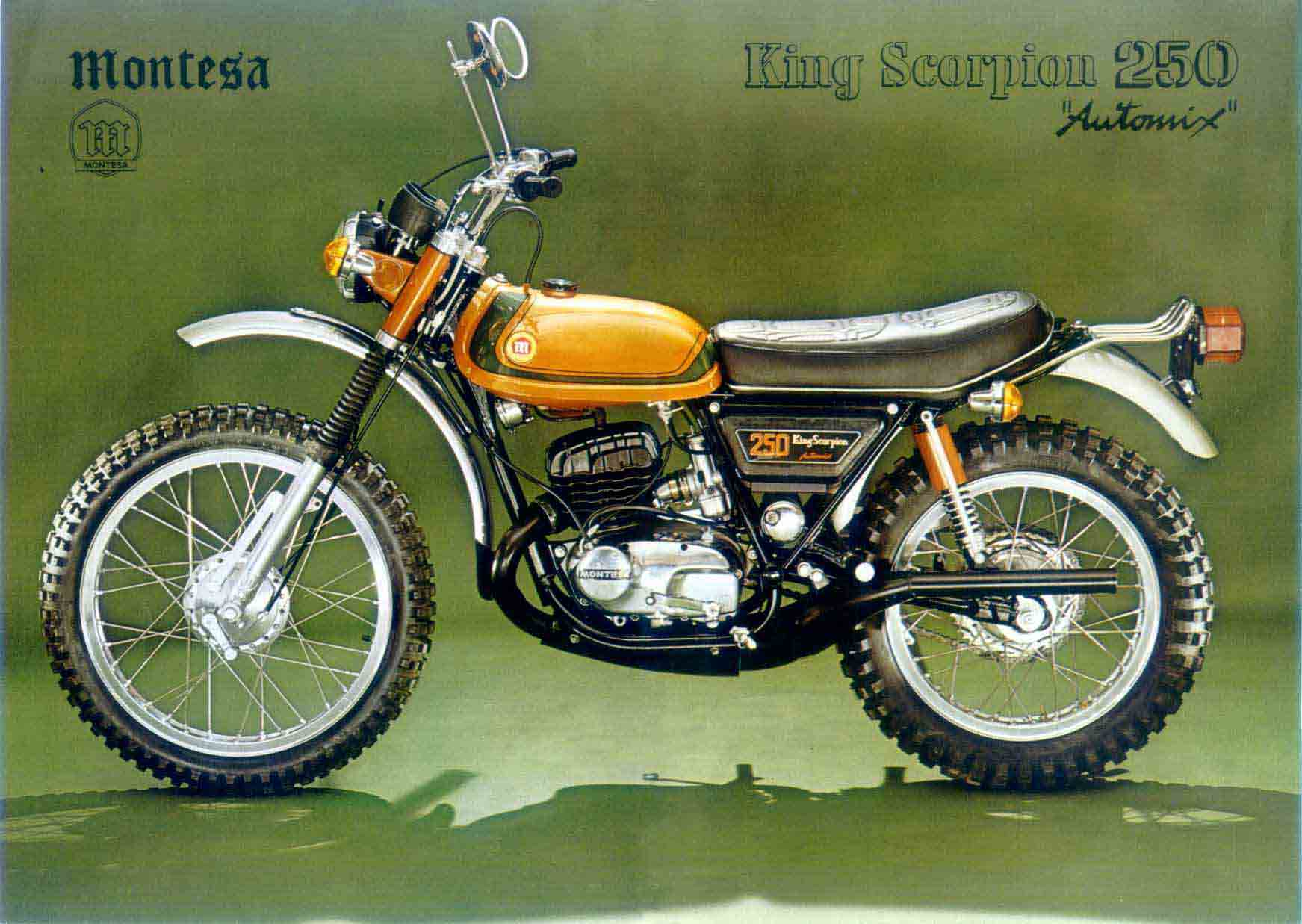 Montesa 250 King Scorpion 1975 images #105717