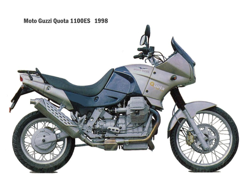 Moto Guzzi Quota 1100 ES 1999 images #108299