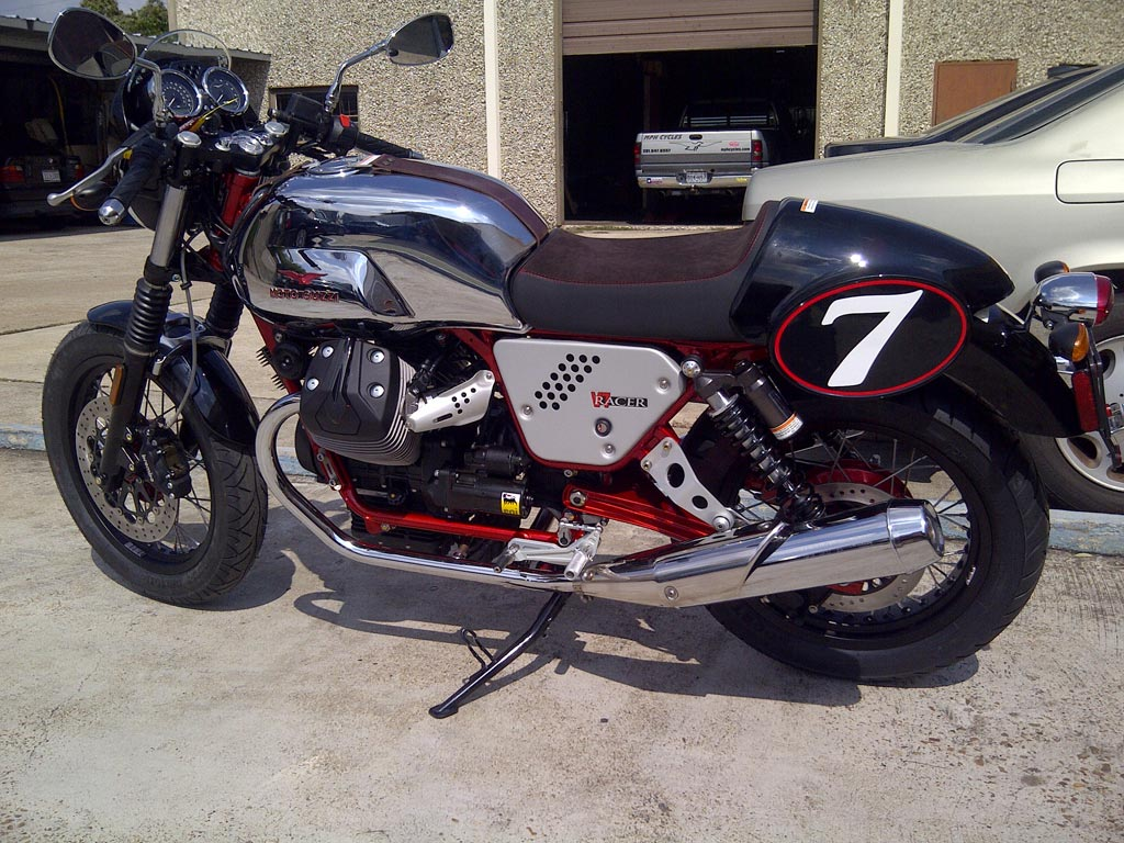 Moto Guzzi V7 Racer 2013 wallpapers #139610