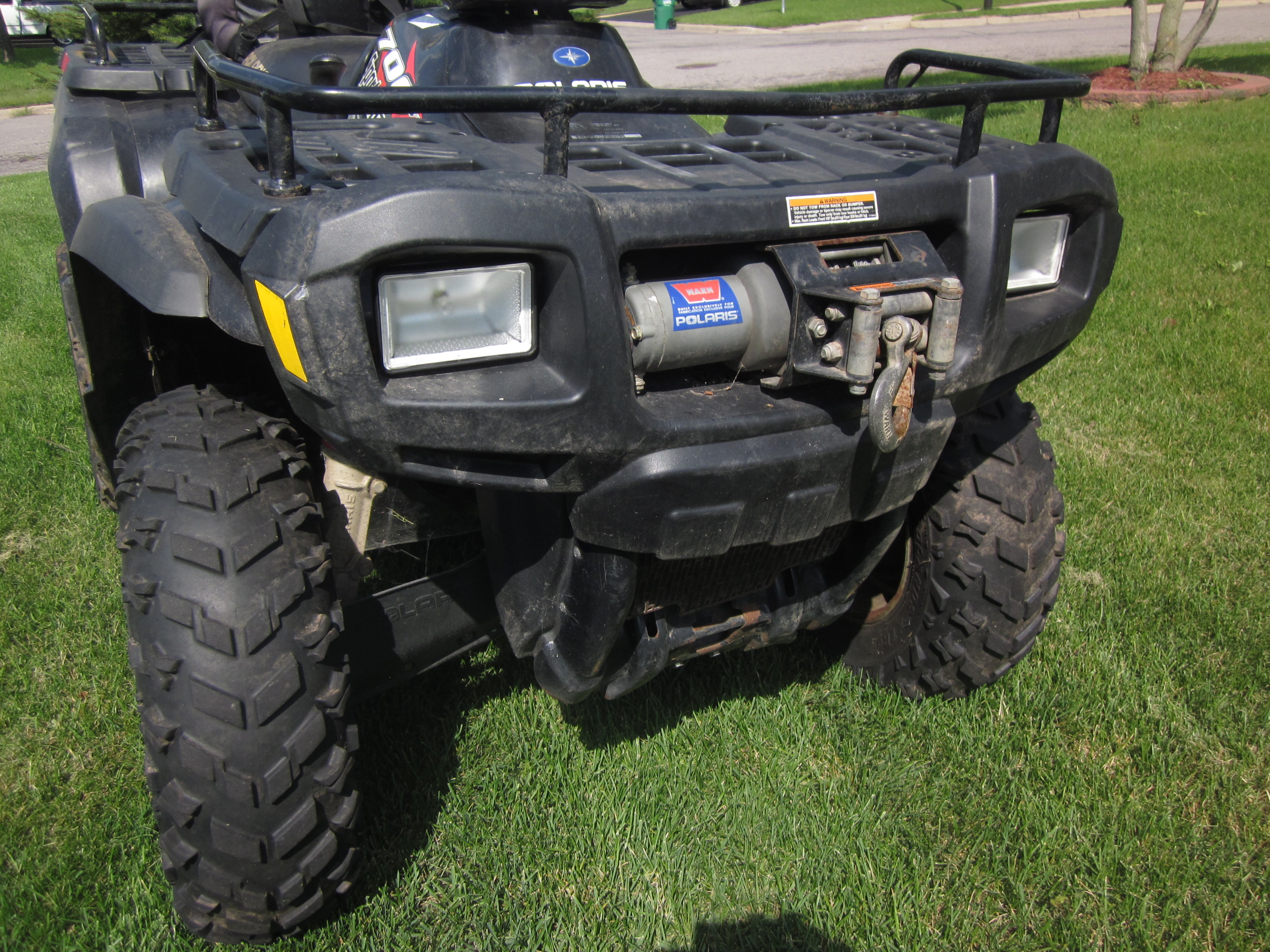 Polaris Sportsman 700: pics, specs and list of seriess by