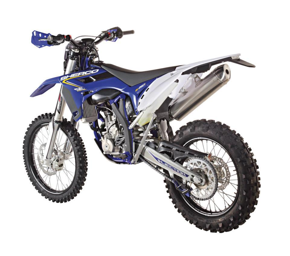 Sherco 125cc Enduro Shark Replica 2007 images #124667