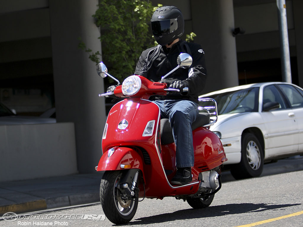 Vespa GTV 250 ie Sidecar 2009 wallpapers #129692