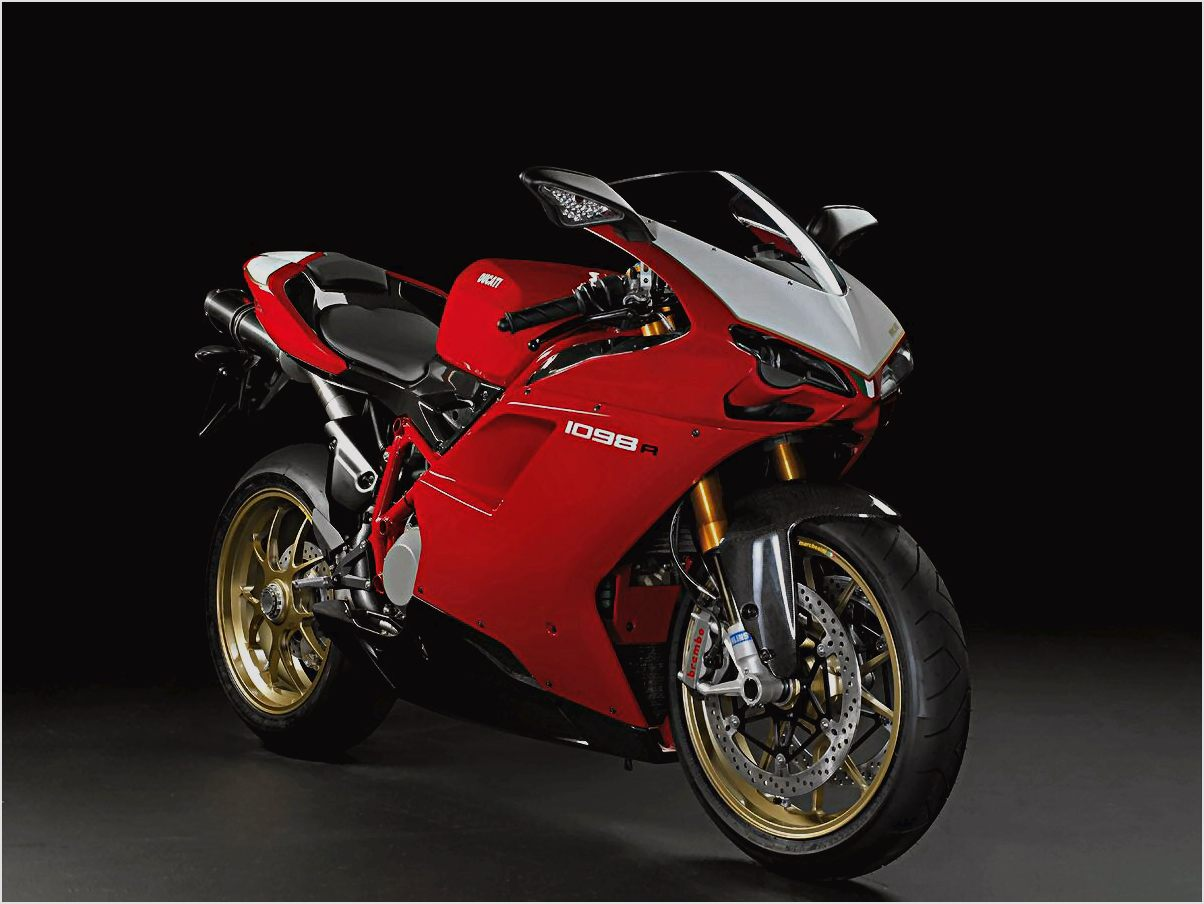 Ducati Superbike 1098 R Bayliss Limited Edition wallpapers #12445