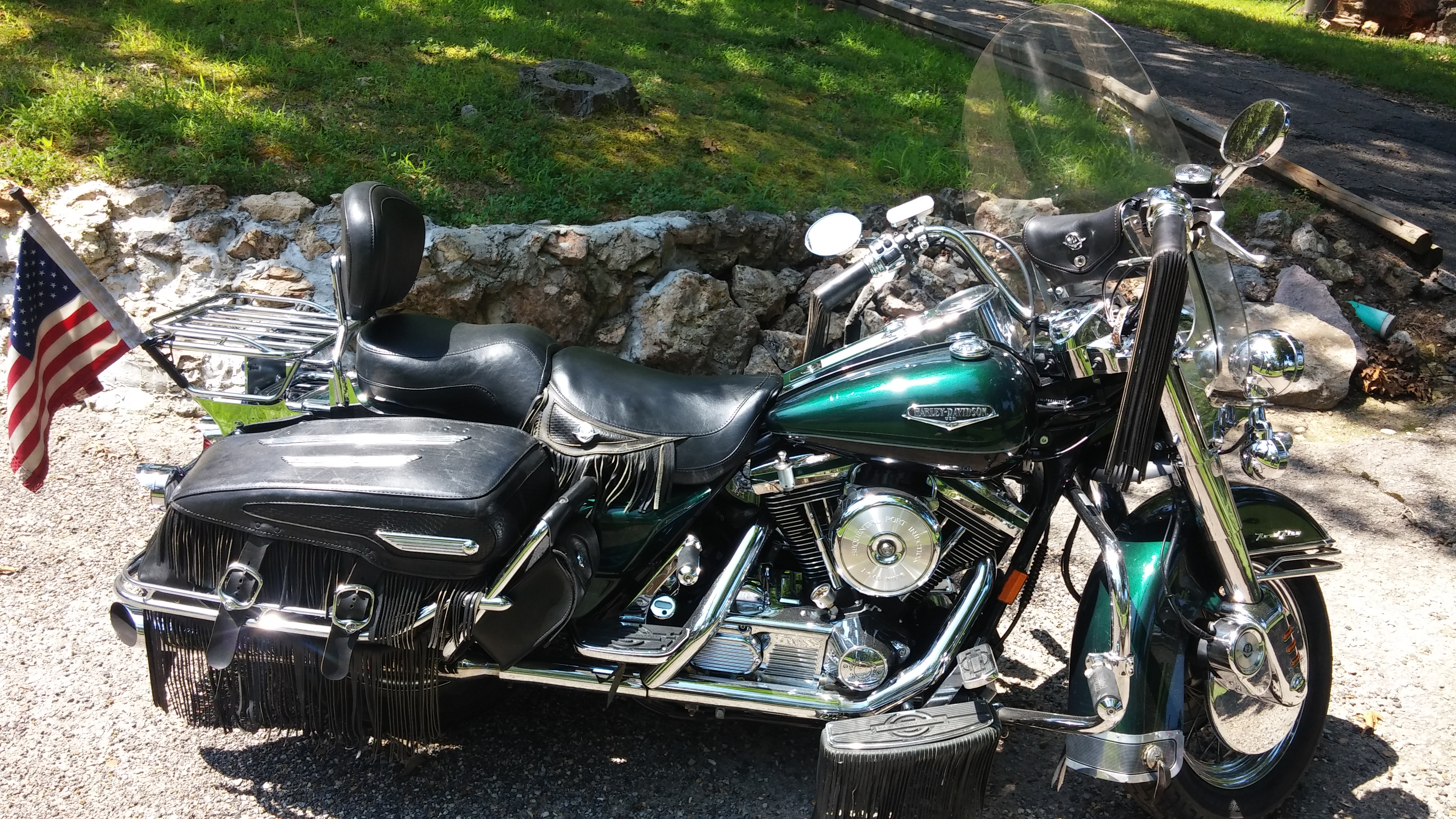Harley-Davidson FLHRC Road King Classic 1998 pics #17018