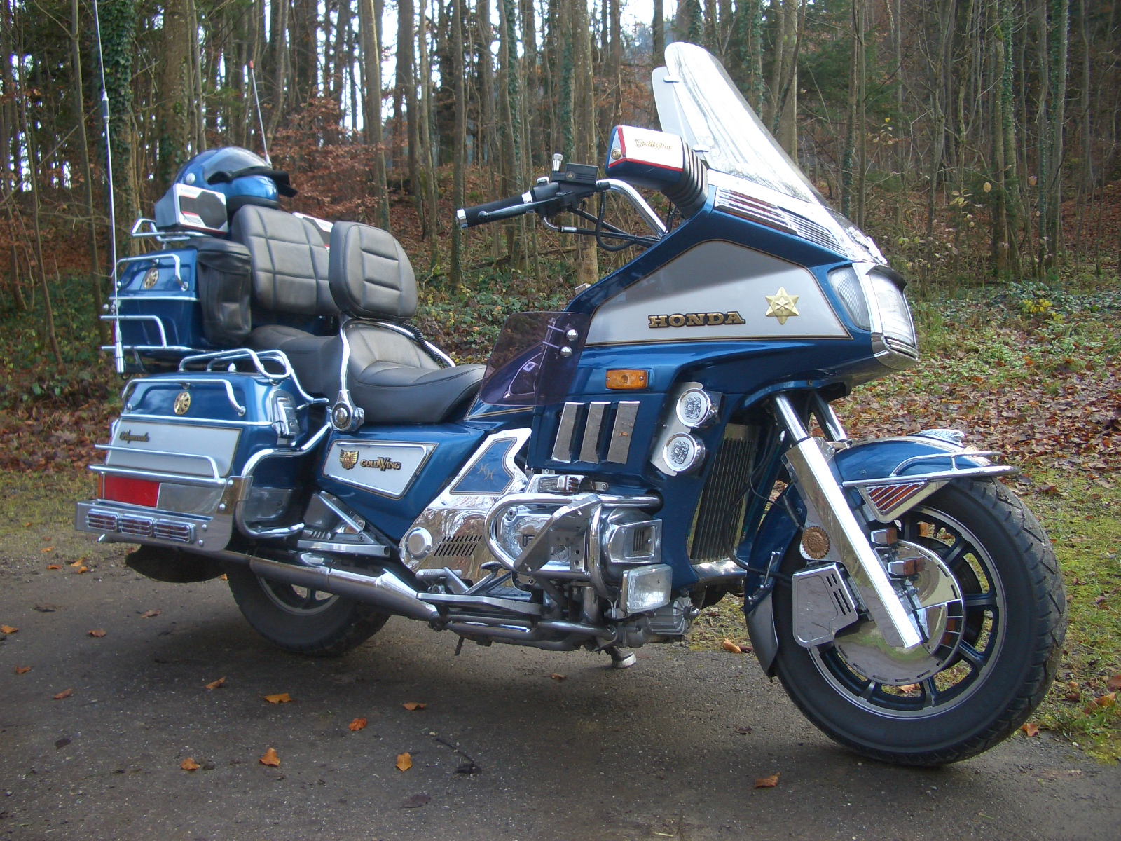 Honda GL 1200 Gold Wing images #80945