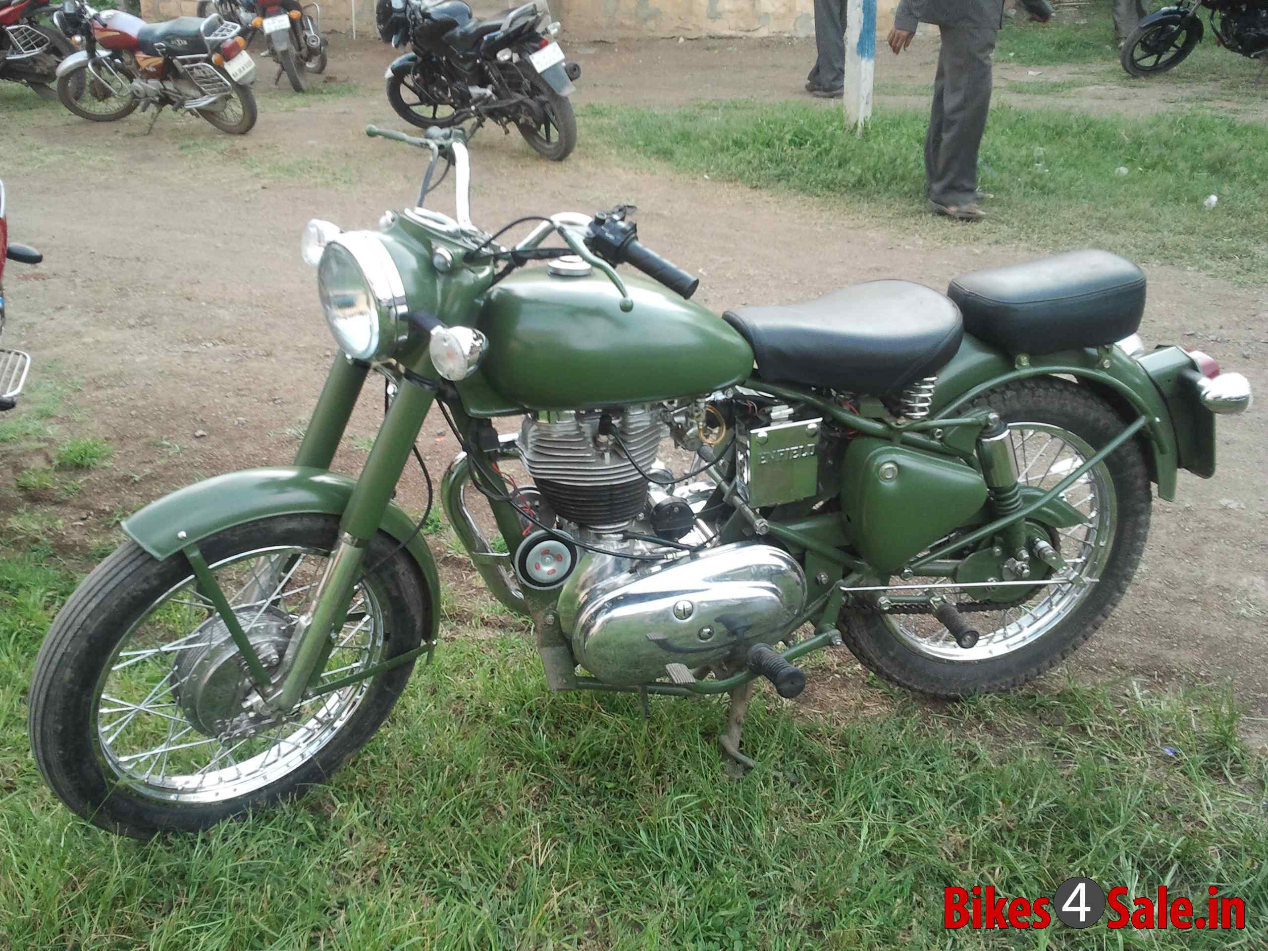 Royal Enfield Bullet 500 Army 1992 images #123377