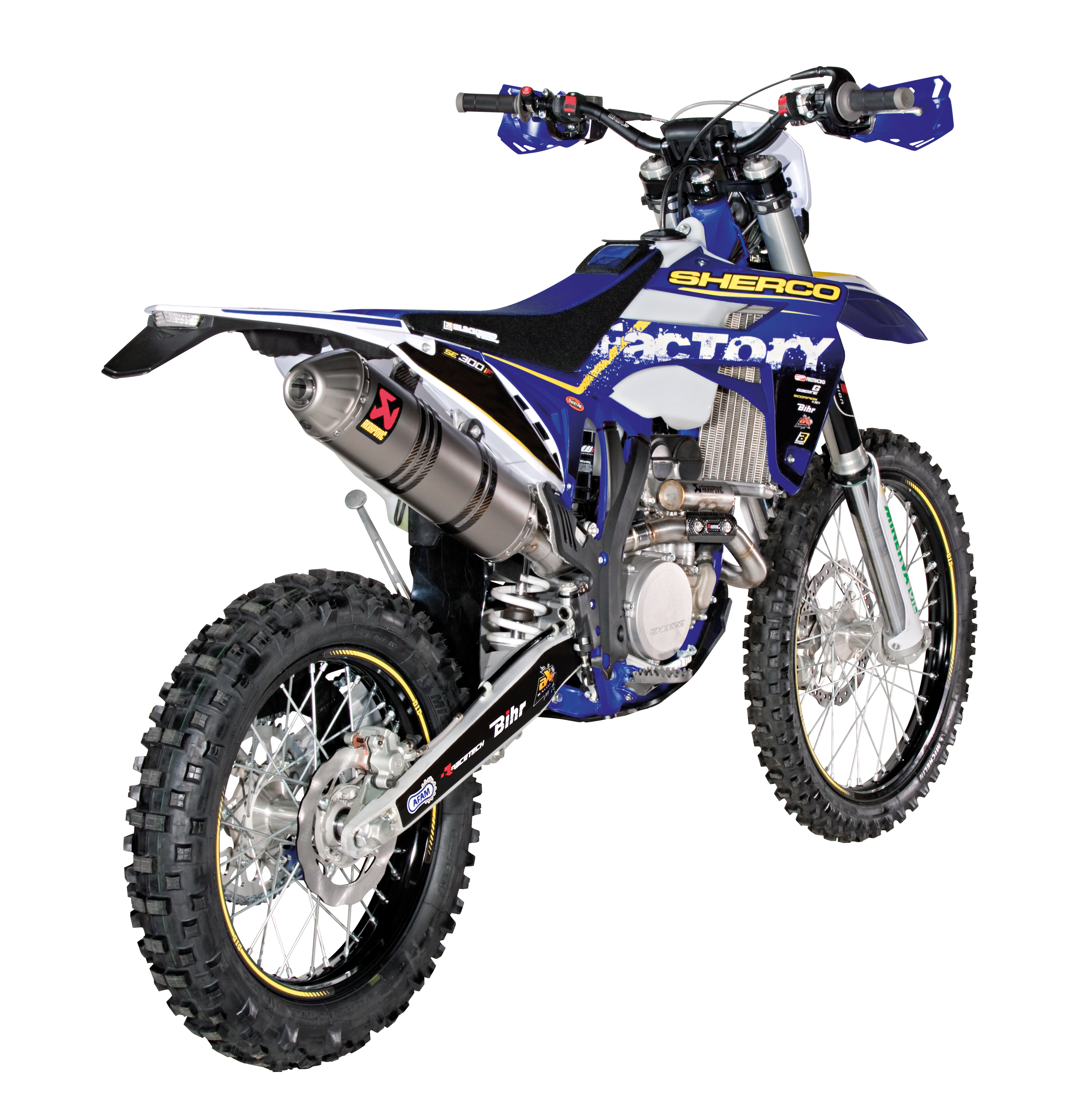 Sherco 125cc Enduro Shark Replica 2007 images #124668