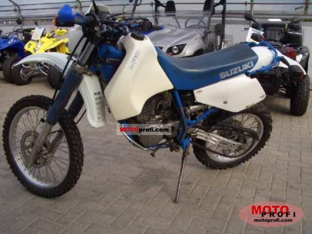 Suzuki DR 600 R Dakar 1988 wallpapers #160536