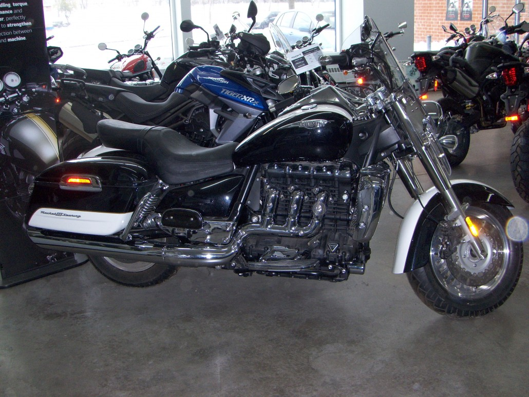 Triumph Rocket III Touring 2012 images #126951