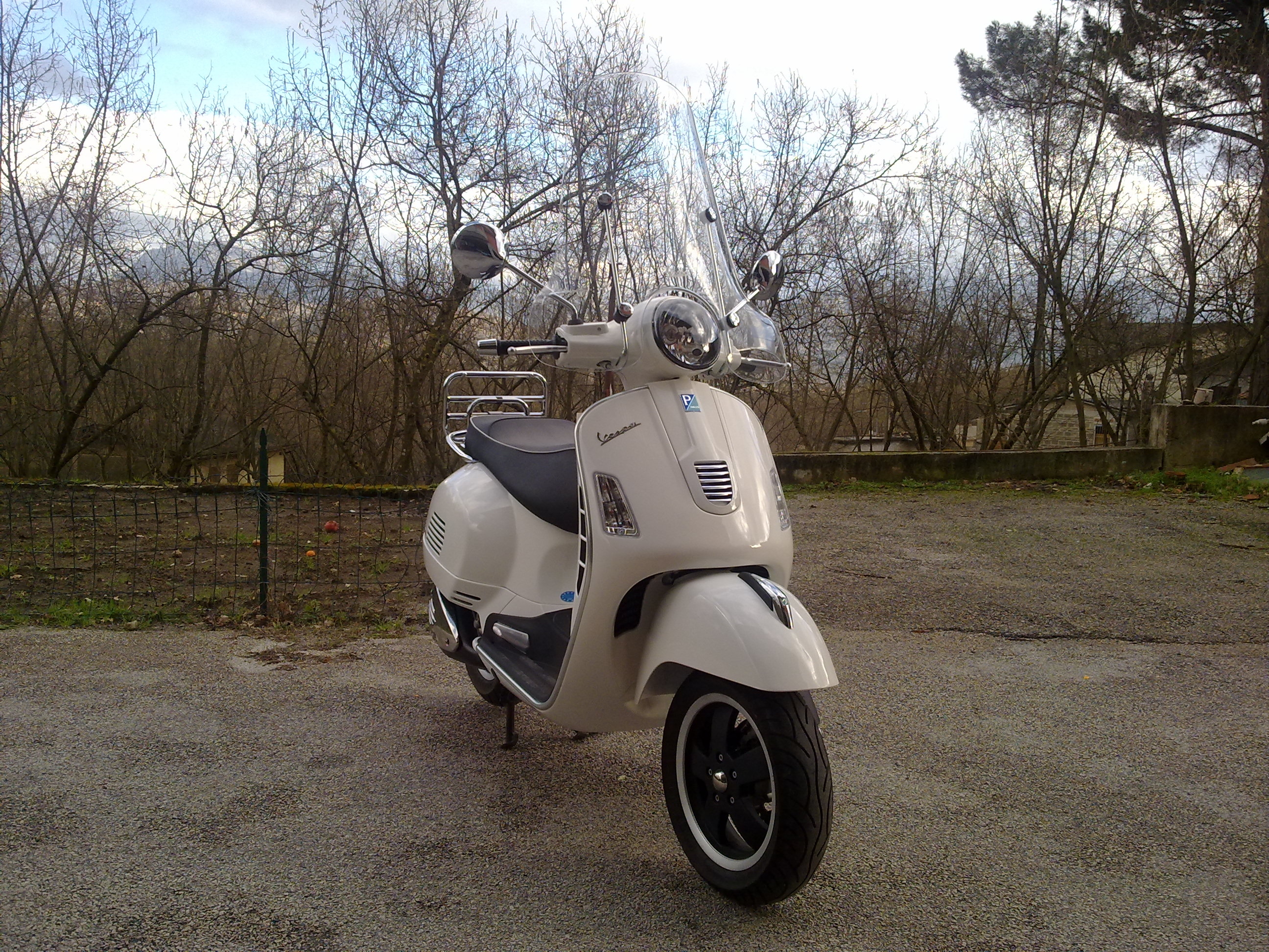 Vespa GTV 250 ie Sidecar wallpapers #129693